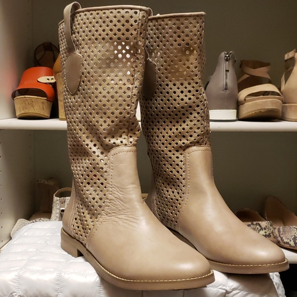 Zoe+Luca Perforated Leather Naples-Z Boot